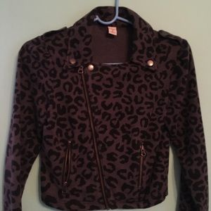 Children's old navy animal print jacket